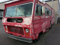 CHEVROLET MOTORHOME FOR PARTS OR AS A SHELTER
