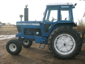 Ford 8700 tractor 110 hp,16.9x38 snap on duals