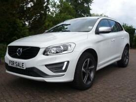 Volvo XC60 2.0 D4 R-DESIGN LUX 190PS AUTO (WHITE) 2015/65