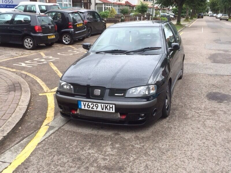 2001 seat ibiza cupra 70k 250bhp ko3s turbo gti golf turbo show car vag cupra r. Black Bedroom Furniture Sets. Home Design Ideas