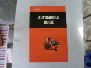 """Audel"" Automobile Guide"