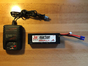RC Lipo Battery and Charger