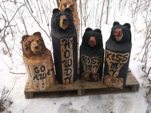 BEARS   carvings