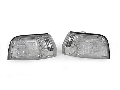 Jdm Corner Lights - DEPO JDM Clear Front Corner Lights For 1992-1993 Honda Accord EX / DX / LX