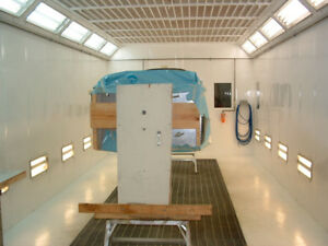 SPRAY BOOTH RENTAL