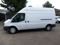 2012 FORD TRANSIT T350 125 Bhp LONG WHEEL HIGH ROOF SIDE DOOR,PLY LINED,CARS