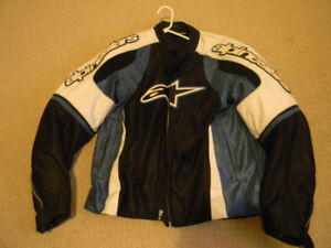 ICON   LEATHER AND ALPINESTARS MESH BOTH XL ONLY $250 FOR BOTH