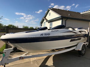 2001 Seadoo Challenger 2000 Fast Family Boat