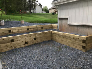 Retaining walls - call for an estimate