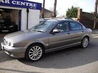JAGUAR X-TYPE 2.2D DIESEL S ** 2007 ** UPGRADE WHEELS AND HALF BLACK LEATHER **