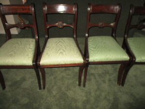 dining/kitchen antique chairs set of four