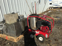pressure washer and accessories