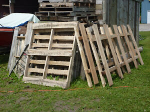 Wooden crates for sale