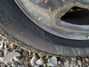 2 Ford 6 bolt tires and wheels