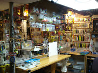 FISHING TACKLE FOR SALE A BASEMENT FULL