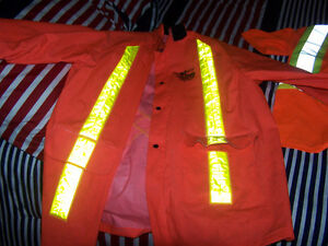work king overalls,storm fighter reflective jacket and shirt Stratford Kitchener Area image 2