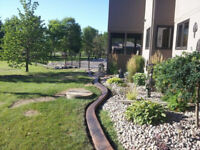 Decorative concrete edging from The Cement Shop