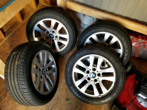 BMW 205/55/R16 rims and tires