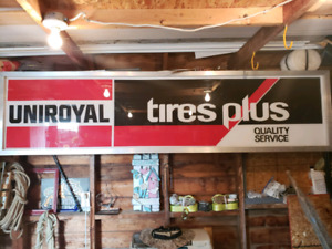 Collectable Tire Sign