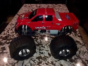 HPI SAVAGE 4.6 GAS POWERED REMOTE CONTROL MONSTER TRUCK Edmonton Edmonton Area image 1