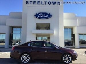 2011 Lincoln MKS AWD LEATHER  - $158.25 B/W