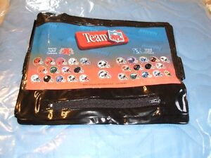 TEAM NFL PENCIL CASE FOR SCHOOL OR COLLECTORS