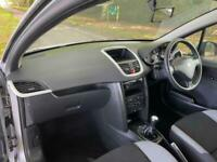 2009 Peugeot 207 1.4 VERVE 3DR IN SILVER CAMBELT DONE HATCHBACK Petrol Manual
