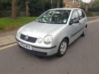 2002 Volkswagen Polo 1.2 Petrol Manual 5 Door Hatchback 2 Keys