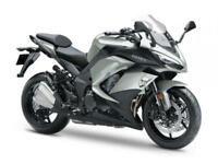 2018 KAWASAKI Z1000SX PERFORMANCE TOURER. 5.9% APR .750 DEP CONTRIBUTION ON PCP