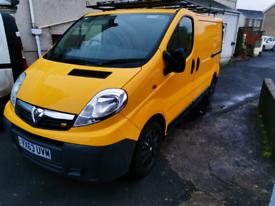 (Low mileage) 2013 Vauxhall vivaro 2.0 swb Camper/day van