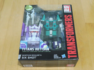 MISB Transformers Titans Return Six Shot 6-Changer