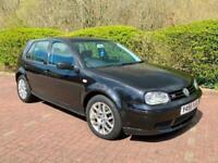 2001 Volkswagen Golf 2.3 V5 Black MK4 GTi Petrol Manual