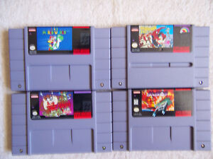 FOR SALE 8   SUPER NIN, GAMES ALL NICE &CLEAN,IN&OUT,