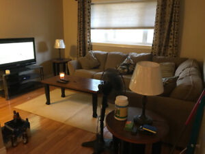 Available May 1. Two bedroom condo for rent