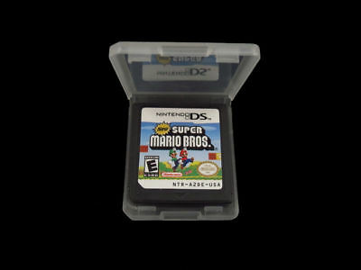 Super Mario Bros Game Card For Nintendo 3DS DSI DS XL Lite Festival Gifts US