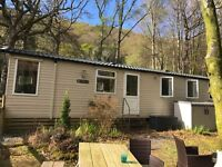8 Birth Swift Moselle Static Caravan for sale in Snowdonia National Park