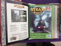 Steam World magazines March 90 to March 91 in Folder