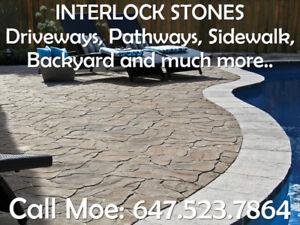 Best Way Ardesia Driveway Interlock Walkway Interlock Stones