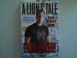 WWE WWF book Chris Jericho A Lion's Tale $5