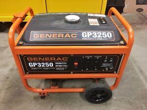Generac Generator GP3250 in New Condition