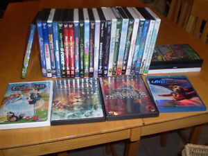 WALT DISNEY AND DREAMWORKS DVDS