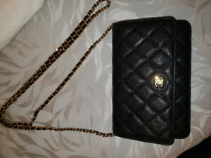 Authentic Chanel Wallet on Chain - Perfect Condition 10/10!