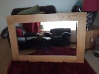Marks and Spencer Sonoma Oak Mirror