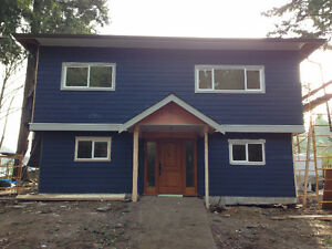 Newly Renovated Shawnigan Lake View Home