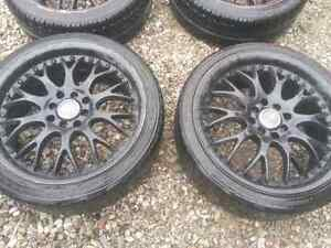 """17"""" staggered rims, need gone ASAP"""