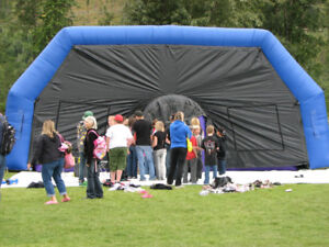 Laser Tag with Dome - inflatable - for sale!