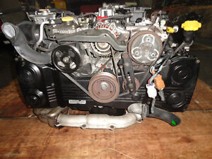 JDM SUBARU WRX EJ20 TURBO ENGINE WITH OUT AVCS SENSOR Gatineau Ottawa / Gatineau Area image 2
