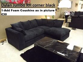 **Dylan Jumbo Cord** CORNER & 3+2 SEATER**Brand NEW**AVAILABLE IN DIFFERENT COLORS