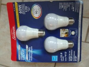 Sunbeam LED Energy Saving Bulbs