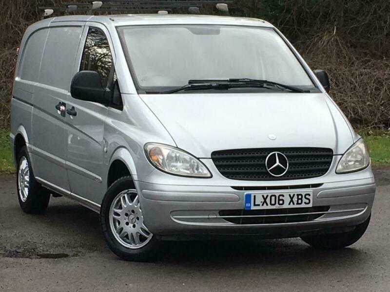 2006 Mercedes-Benz Vito 2.1 109CDI Dualiner Basic Compact Panel Van 5dr Diesel s | in Farnham ...